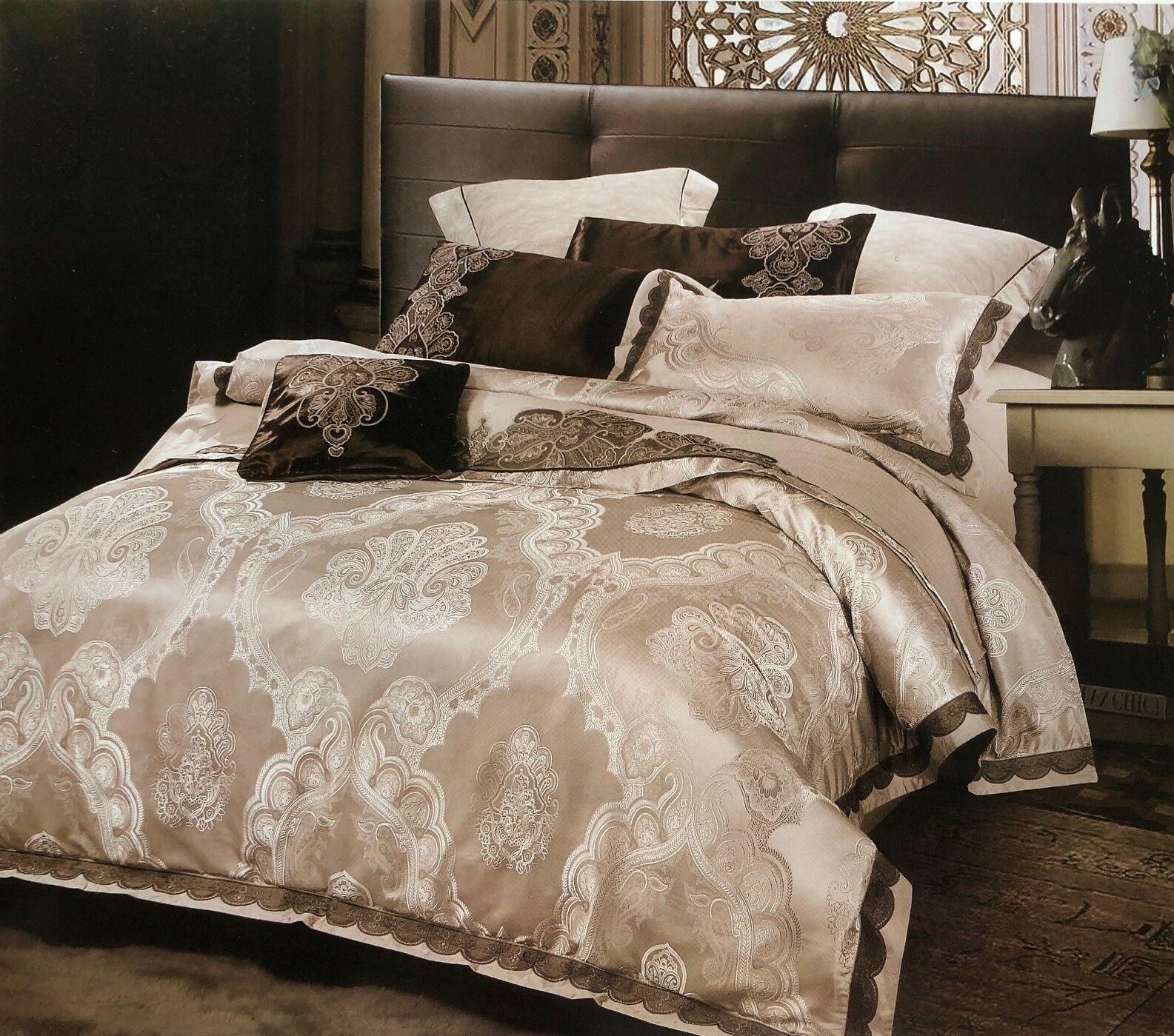 Жаккардовый постельный комплект